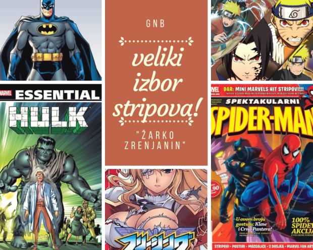 veliki izbor stripova!